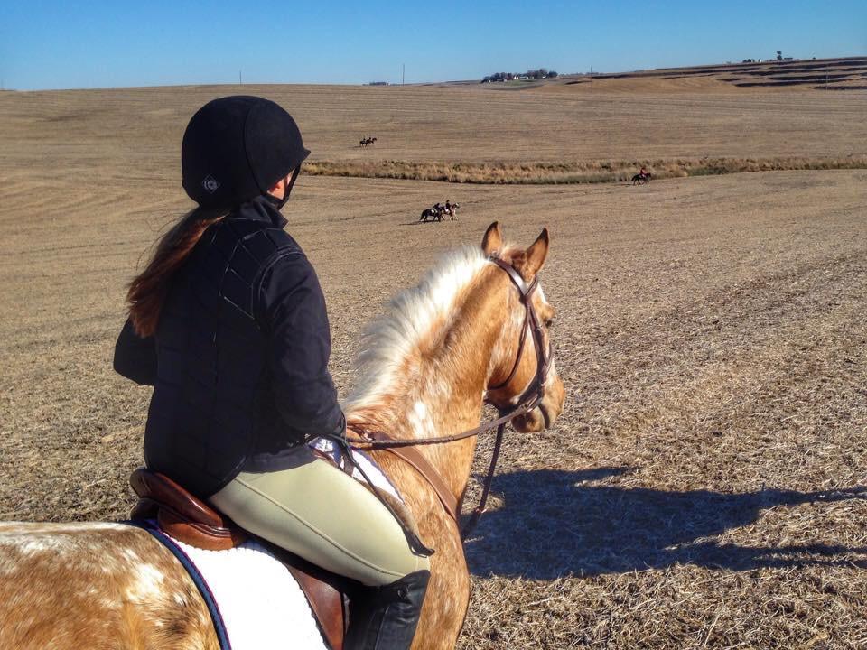junior rider, Kelsey Hutton