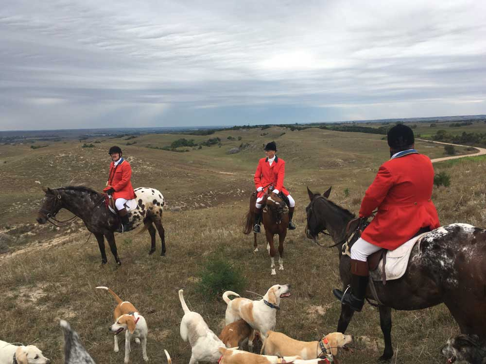 Foxhunting in Burwell
