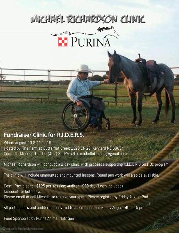 Michael Richardson Clinic | The Farm at Butterflat Creek