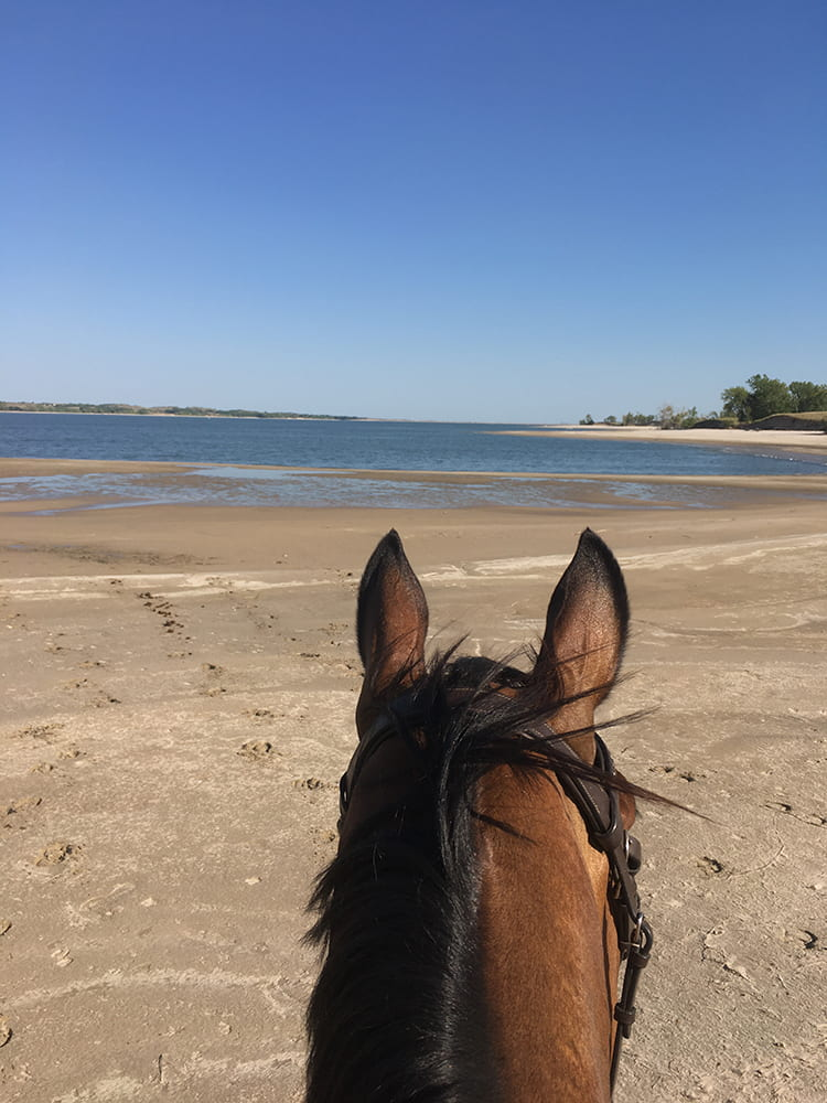 through the ears of Wicked. Calamus Reservoir