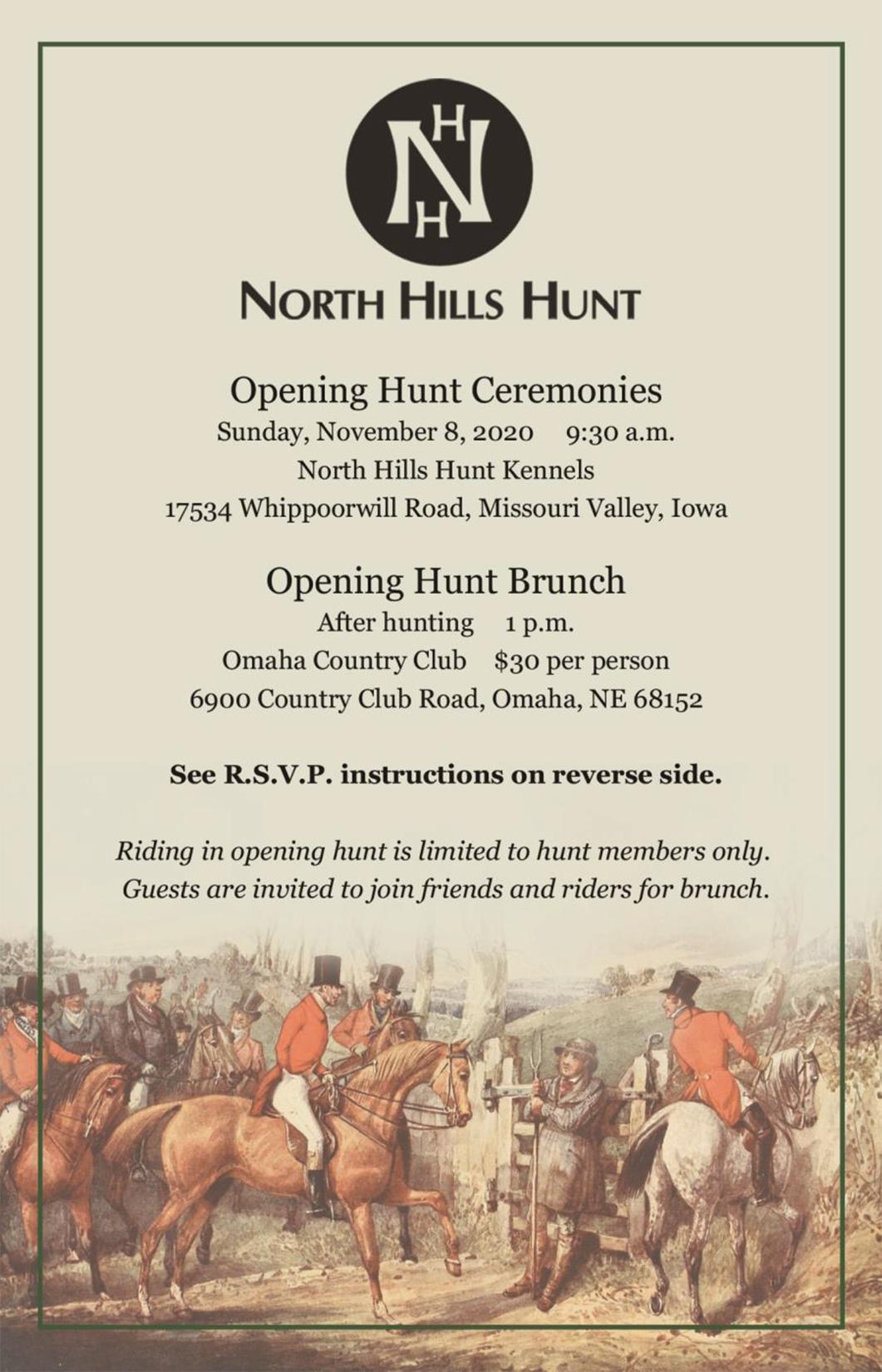Opening Hunt 2020